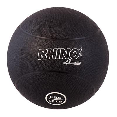 Rhino Rubber Medicine Ball 12 lb