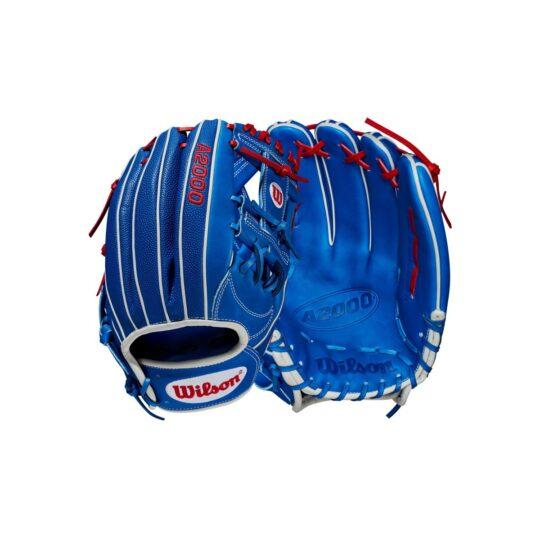 "Wilson A2000 12.25"" Infield Glove Royal/Scarlet '21"