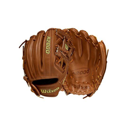 "Wilson A2000 11.5"" Infield Glove Saddle Tan '21"