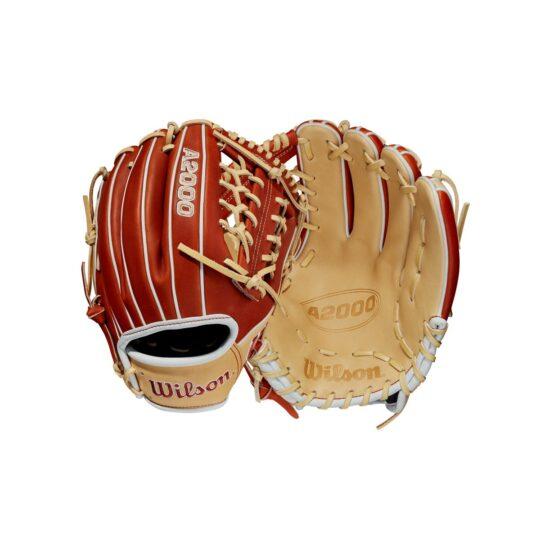 """Wilson A2000 11.5"""" Infield Glove LH Copper/Blonde '21"""