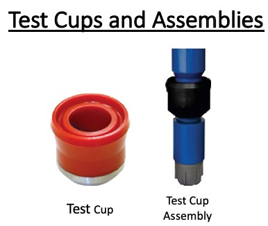Test Cups and Assemblies