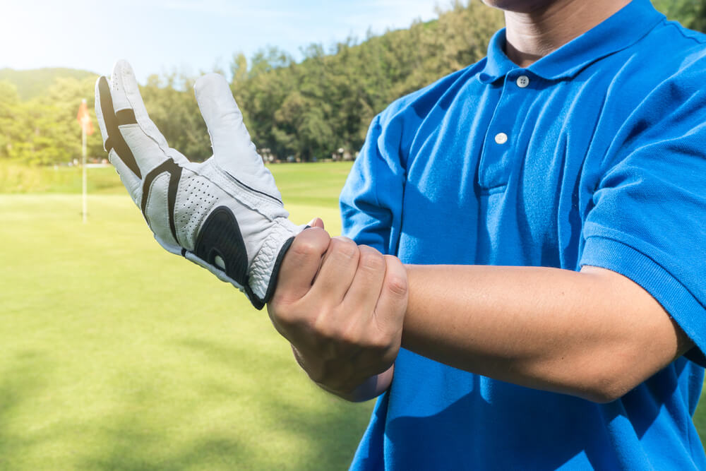 Outside of Wrist Pain From Golf
