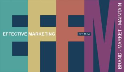 Effective Marketing | Branding - Marketing - Maintenance
