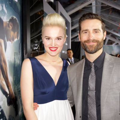 Mandeville Films and Ziegfeld Theater and Insurgent NYC Premiere and Todd Lieberman and author Veronica Roth