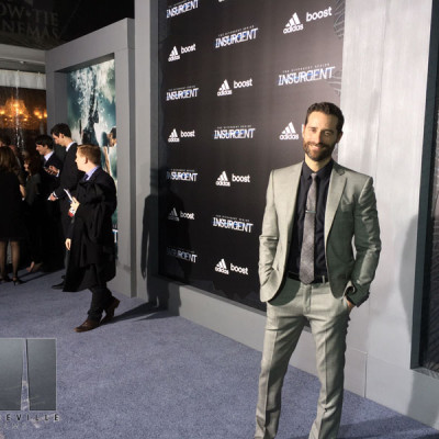 Mandeville Films and Ziegfeld Theater and Insurgent NYC Premiere and Todd Lieberman