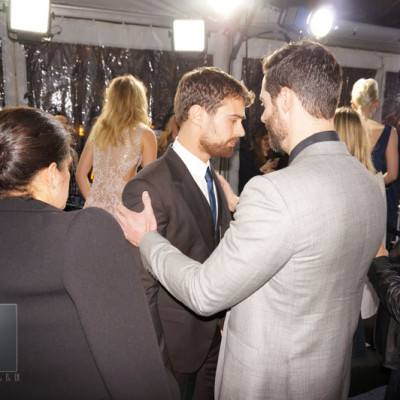 Mandeville Films and Ziegfeld Theater and Insurgent NYC Premiere and Todd Lieberman and Theo James