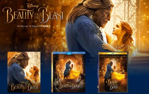 Beauty and the Beast on Digital HD, Blu-Ray and DVD June 2