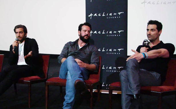 Todd-Lieberman-and-Jake-Gyllenhaal--Stronger-Arclight-Panel