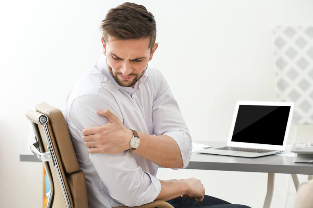 Pain in Neck and Shoulder Radiating Down the Arm