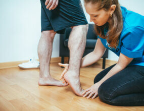 Physical Therapy After Foot Surgery