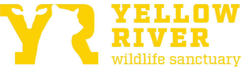 Yellow River Wildlife Sanctuary horizontal logo