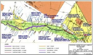 FloodBreak Automatic Floodgates raise IBWC levee elevations across highways and bridge crossings