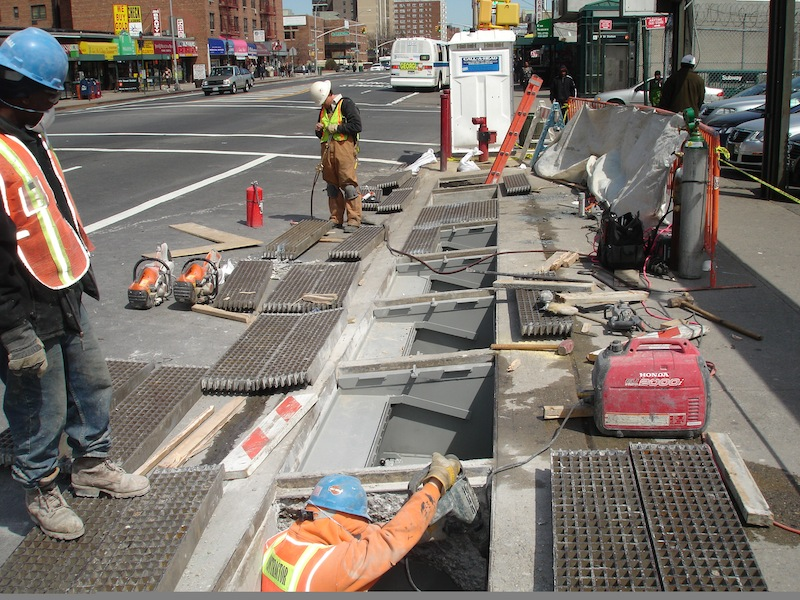 NY Subway system installs FloodBreak to protect against street flooding
