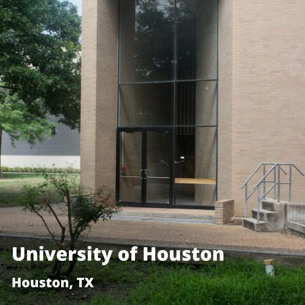 passive automatic flood barrier at UH Houston