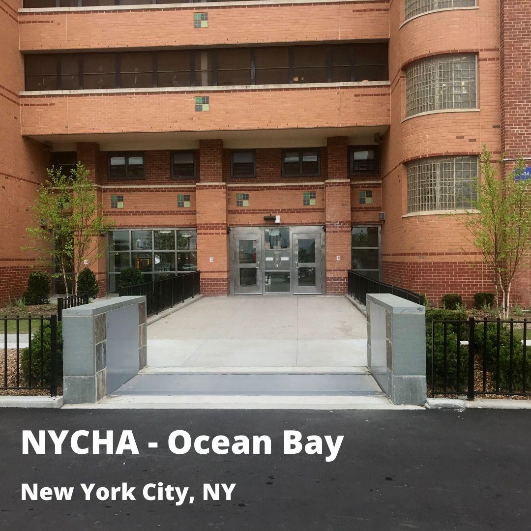 NYCHA flood barrier systems