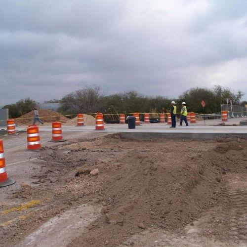 levee flood barrier