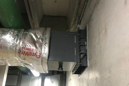 flood barrier inside wall vent