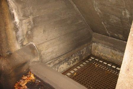 flood barrier inside vent