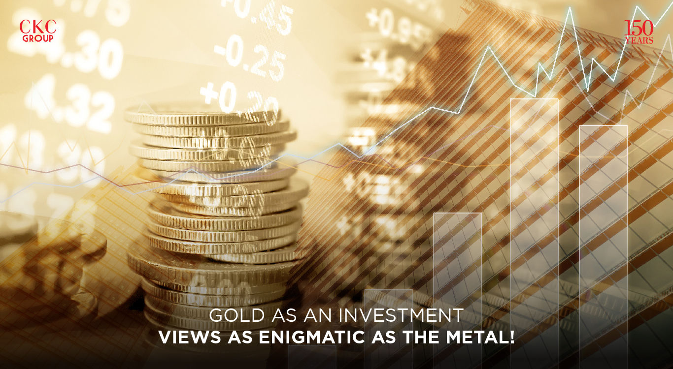 Gold as an investment – views as enigmatic as the metal!