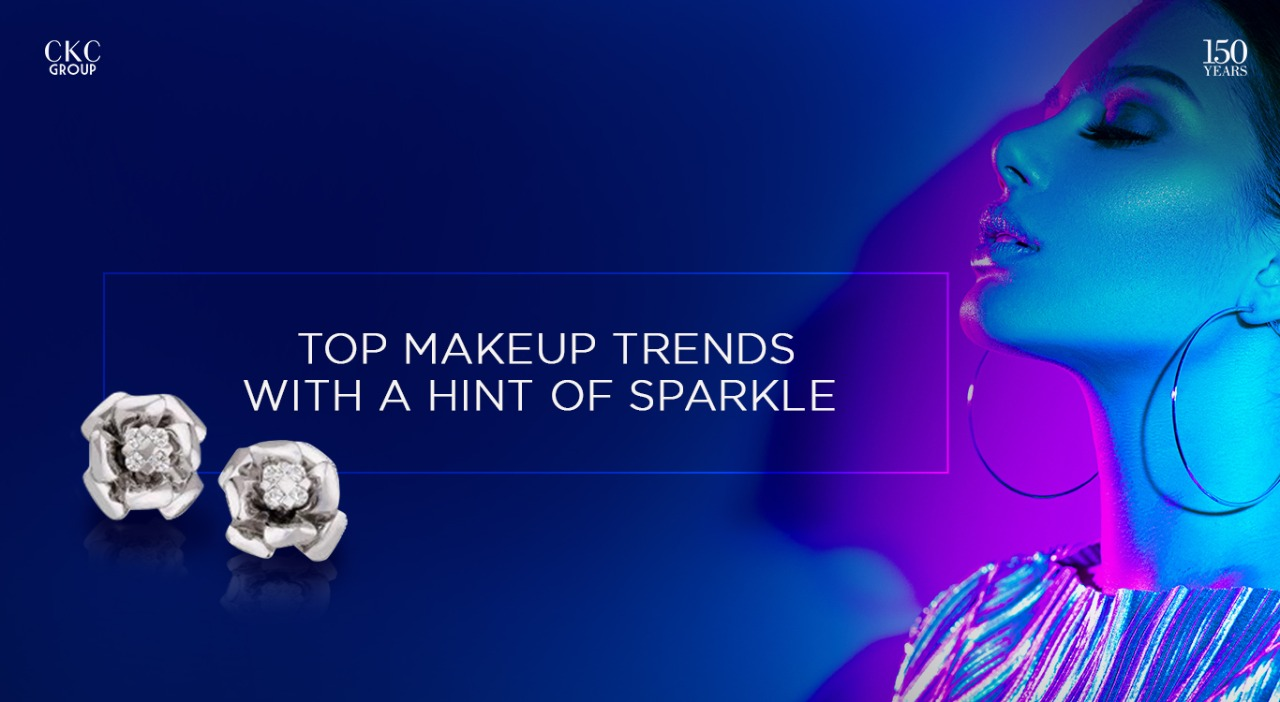 Top Makeup Trends with a hint of Sparkle