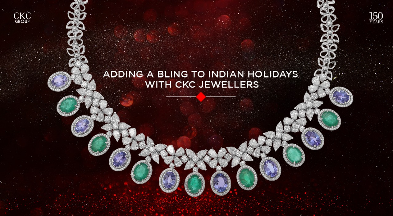 Add the Bling to Indian Holidays with C. Krishniah Chetty Jewellery