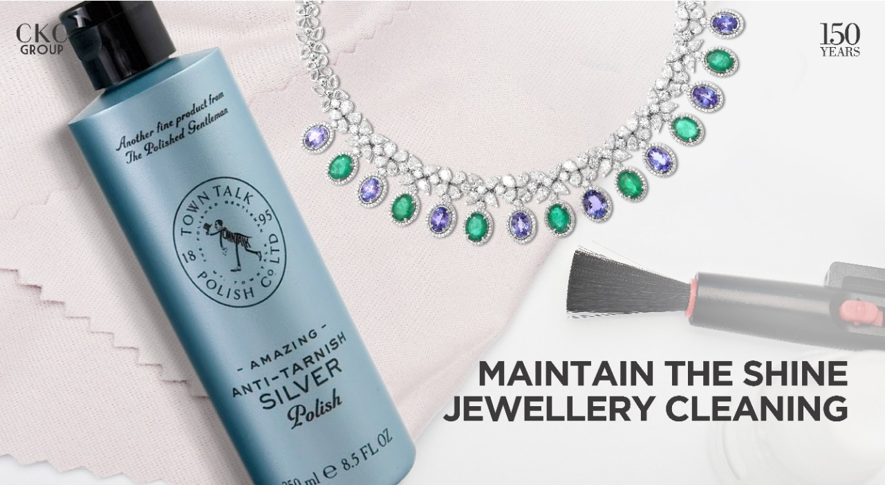 Maintain the Shine – Jewellery Cleaning