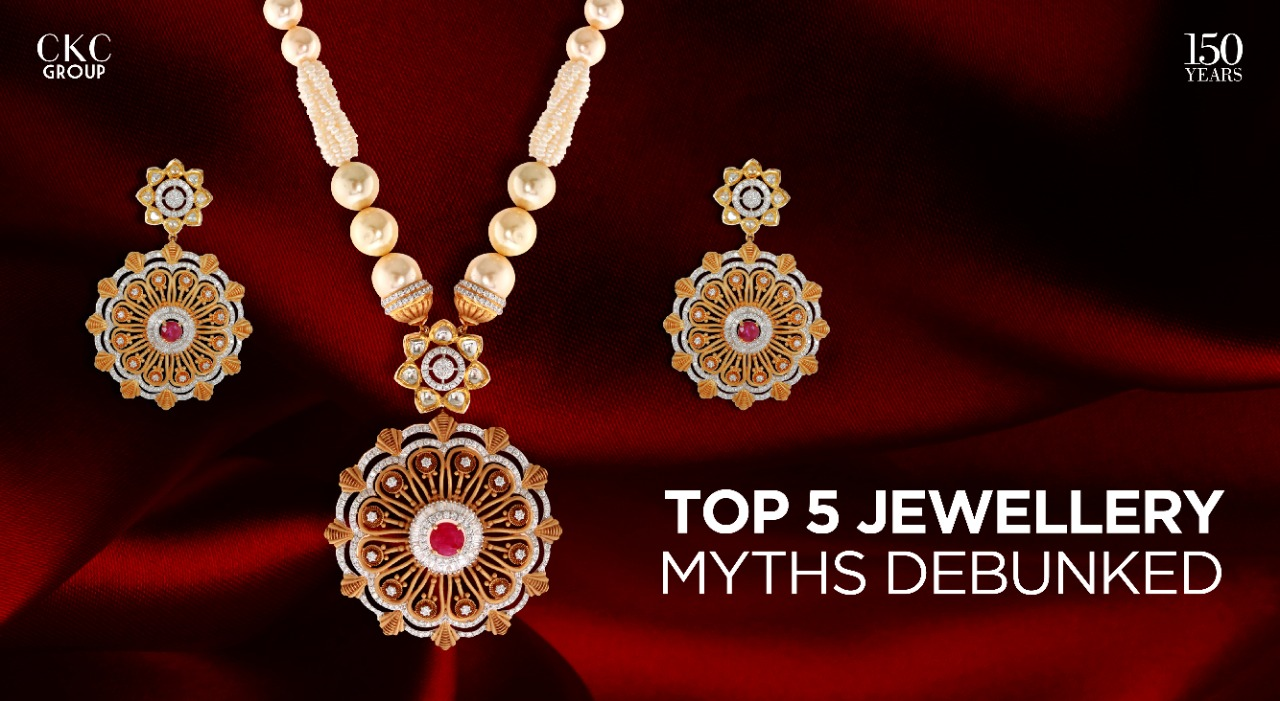 Top 5 Jewellery Myths Debunked