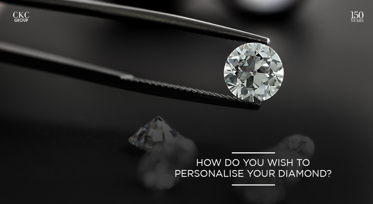 How do you wish to personalise your diamond?