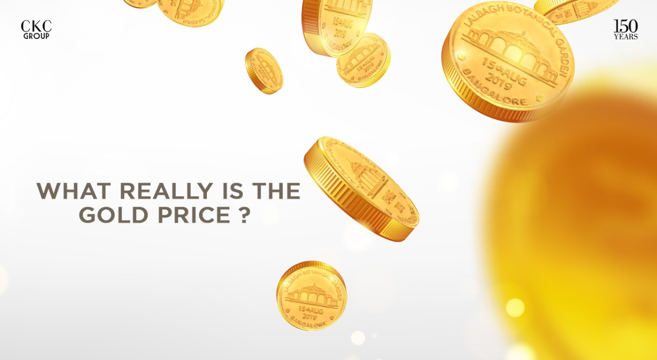 WHAT REALLY IS THE GOLD PRICE ?