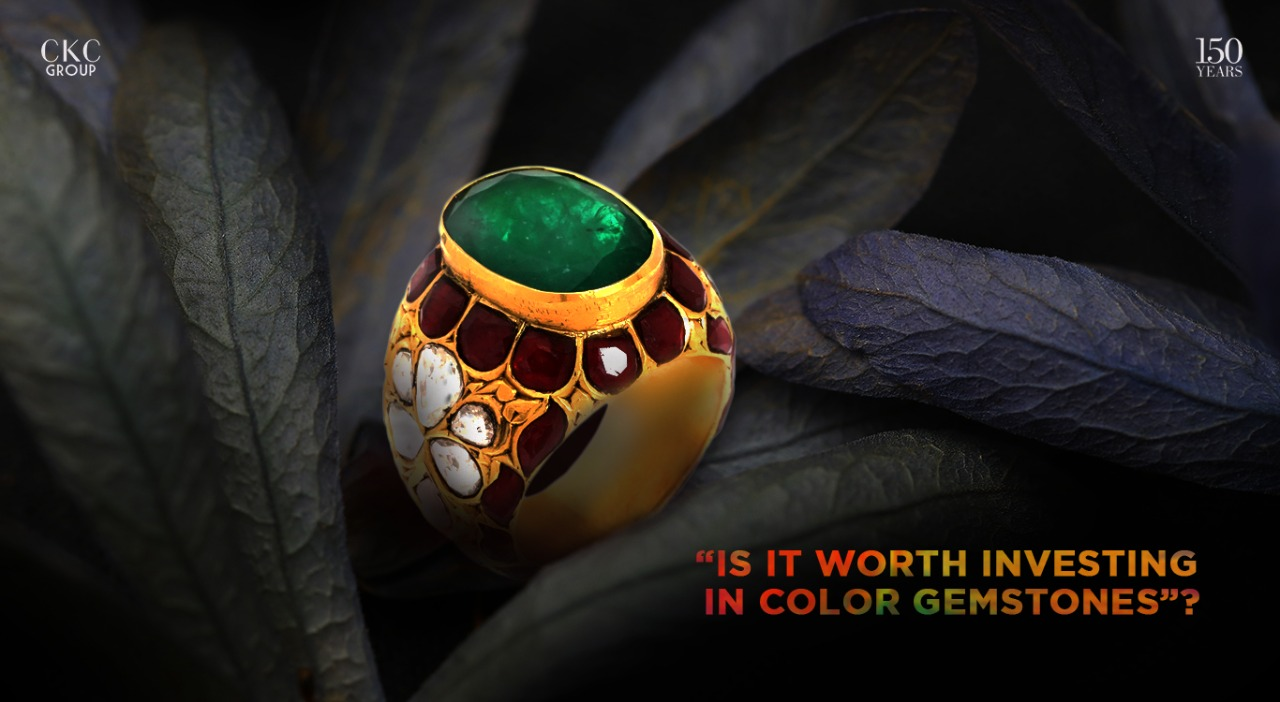 Is it worth investing in color gemstones