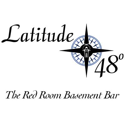 Latitude 48° The Red Room basement bar