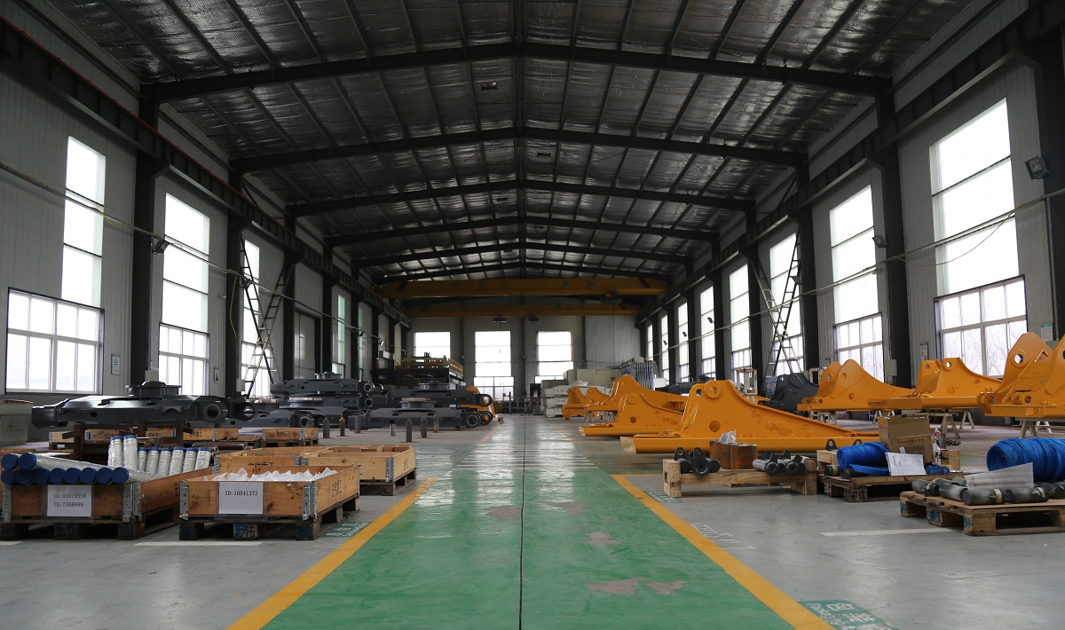 Liebherr Accessories and Parts Warehouse
