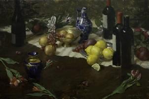 Michael Van Zeyl  wine bottles