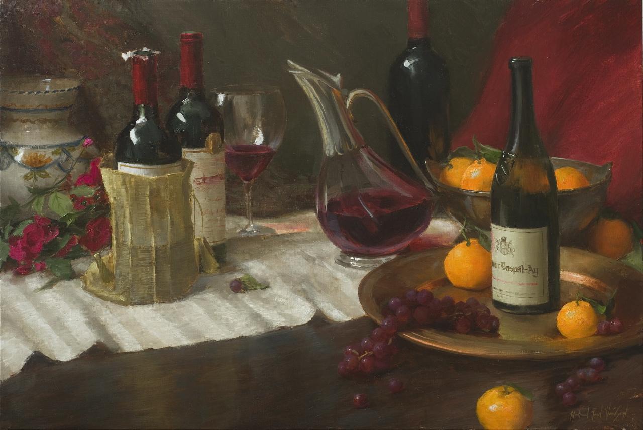 mystery wine Michael Van Zeyl