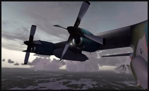 Double panne de moteur sur un C-130 Hercules
