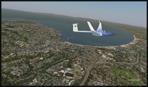 Planeur à Monterey, Californie (FSX)