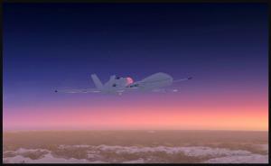 RQ-4B Global Hawk à haute altitude au-dessus du Canada (FSX)