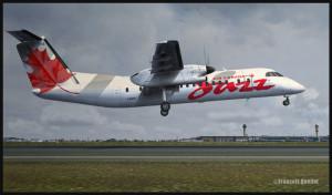 FlyTampa Toronto et Air Canada Jazz