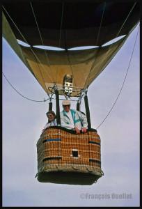 Décollage de la montgolfière C-GFCM à St-Jean-sur-Richelieu, (1988)