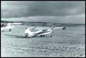 C170B C-GGPI à Inukjuak, au Québec, en 1982