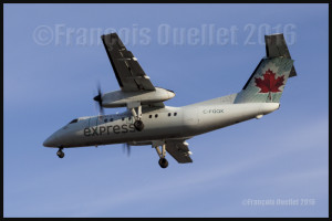 Air Canada DHC-8-102 C-FGQK Toronto 2016