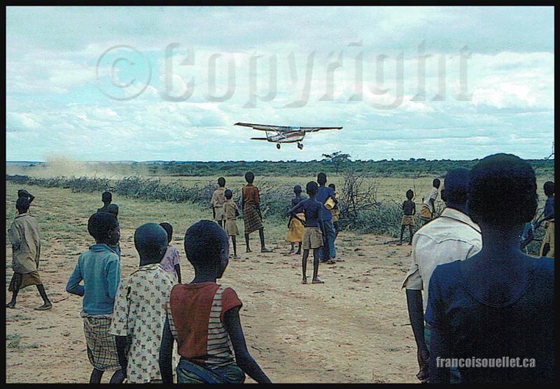 Aviation sans frontières (ASF) Mission Tchad 1984