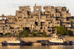 Photographie et architecture. Habitat 67 à Montréal