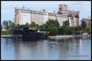 Silos à grains du Vieux-Port de Montréal en 2016. Photo prise avec un Canon 5DSR.