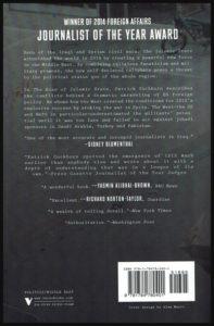 """Quatrième de couverture du livre de Patrick Cockburn """"The Rise of Islamic State"""""""