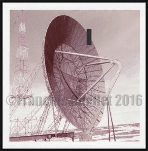Coupole radar de la ligne Pinetree à Frobisher Bay, NWT, Canada en 1955