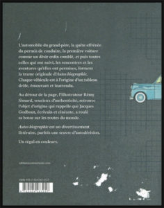 Quatrième de couverture du livre Autos Biographie de Jacques Godbout
