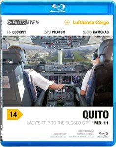 DVD de PilotsEye sur un voyage de 10 jours à travers le monde avec un MD-11F de Lufthansa Cargo
