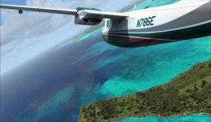 Arrivée du Medevac vers l'aéroport de Port Moresby Jacksons (AYPY). Les vents empêchent un atterrissage normal.