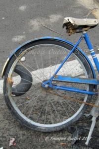 Photographie de rue et vélo.
